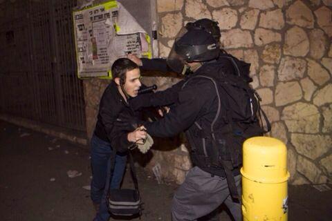 אלימות שוטרים הפגנה